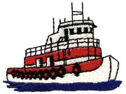 Tugboat clipart ship