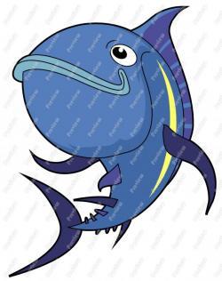 Tuna clipart cartoon