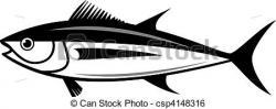 Tuna clipart vector