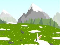 Landscape clipart tundra
