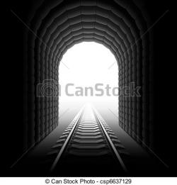 Tunnel clipart drawing