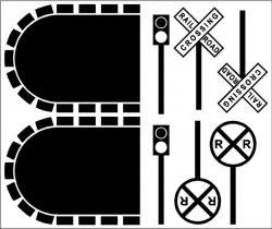 Tunnel clipart train track