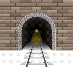 Tunnel clipart train tunnel