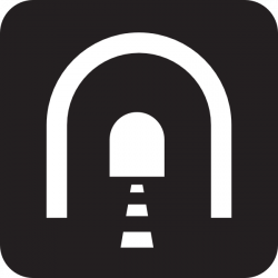 Tunnel clipart vector