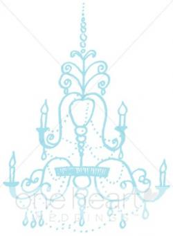 Chandelier clipart turquoise