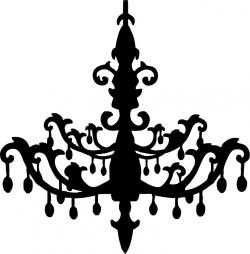 Chandelier clipart crystal chandelier