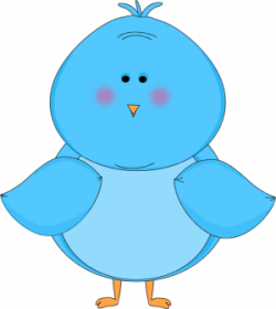 Bluebird clipart cute