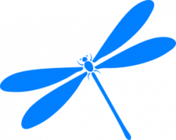 Dragonfly clipart turquoise