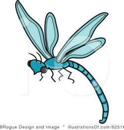 Dragonfly clipart line art
