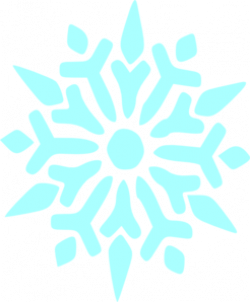 Mint clipart snowflake