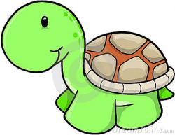 Cute clipart tortoise