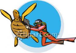 Diver clipart scuba gear
