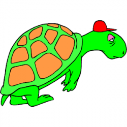 Tortoise clipart tired