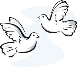Funeral clipart funeral dove