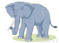 Asian Elephant clipart african elephant
