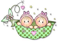 Twins clipart newborn baby