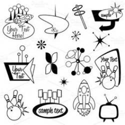 Typeface clipart