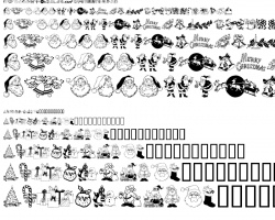 Typeface clipart artistic
