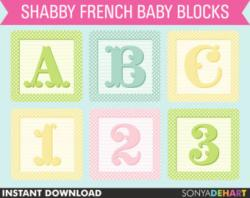 Typeface clipart baby block