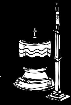 Church clipart font