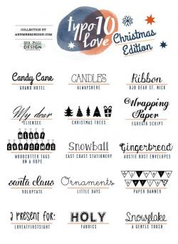 Typeface clipart lovely