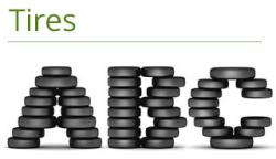 Typeface clipart stack tire