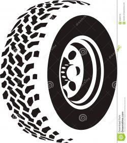Tires clipart road