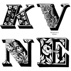 Typeface clipart type font