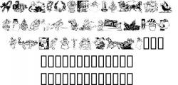 Typeface clipart xmas