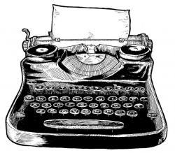 Mind clipart typewriter