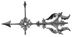 Victorian clipart arrow