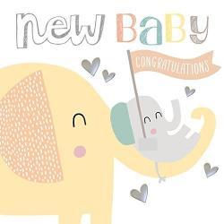 Typography clipart baby congratulation