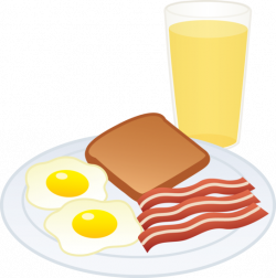 Breakfast clipart cartoon