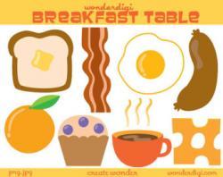 Breakfast clipart dairy food