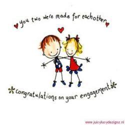 Dove clipart engagement congratulation