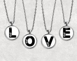 Typography clipart jewelry