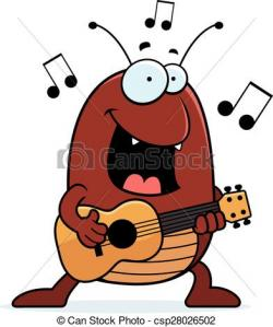 Ukulele clipart cartoon