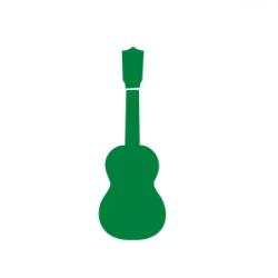 Ukulele clipart green