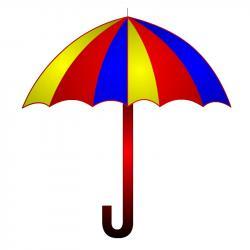Triangle clipart umbrella