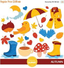 Umbrella clipart autumn