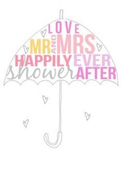 Umbrella clipart bridal shower umbrella