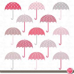 Umbrella clipart chevron