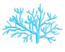 Coral Reef clipart blue coral