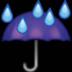 Umbrella clipart emoji