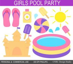 Popsicle clipart pool