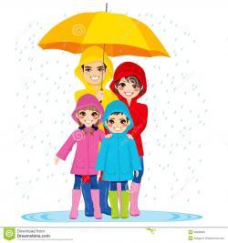 Umbrella clipart rainy day