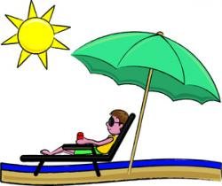 Umbrella clipart sunny weather