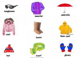 Boots clipart rainy season clothes