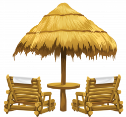 Leisure clipart beach umbrella
