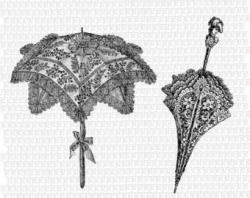 Umbrella clipart victorian
